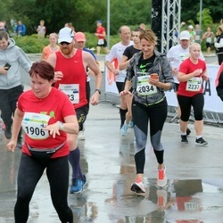 Tallinna Maraton - Rosi Mäki-Juoni (1906), Anja Biester (2034), Sebastian Rupp (2035)