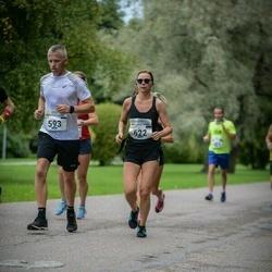 Tallinna Maraton - Ando Hermsalu (593), Elise Kaidme (622)