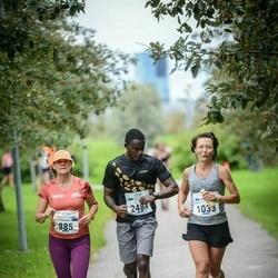 Tallinna Maraton - Arja Johanna Vironmäki (885), Zaira Sorokina (1033), Ali Sharplis (2484)