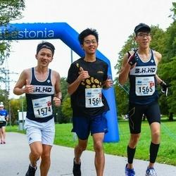 Tallinna Maraton - Cheuk Long Poon (1565), Chun Yat Chan (1569), Ambrose Chun Pong Ho (1574)