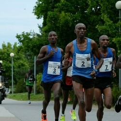 Tallinna Maraton - Bernard Cheruiyot Sang (2), Joseph Kyengo Munywoki (3), Bernard Kitur (7)