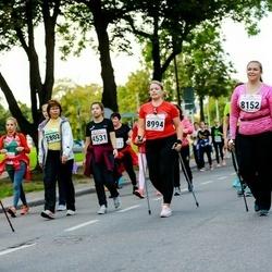 Tallinna Sügisjooks - Eve Kukk (2802), Kerli Kalk (4531), Jekaterina Sepp (8152), Anna Zimenkova (8994)