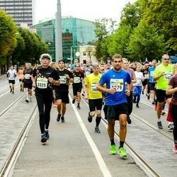 Tallinna Maraton - Alexandros Parassidis (1279), Jelena Münch (1280), Lauma Lieksne (1726), Adriaan Bakker (3325)