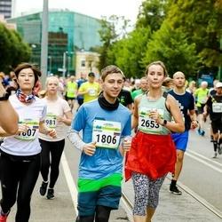 Tallinna Maraton - Artem Priadkin (1806), Olga Kim (1807), Irma Grigorjeva (2653)
