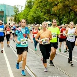 Tallinna Maraton - Maarek Pajur (688), Ander Avila (2479), Ly Pajur (2801), Eeva Lahtinen (3311)