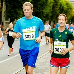 Tallinna Maraton - Elina Borchers (3837), Arttu Borchers (3838)
