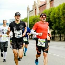 Tallinna Maraton - Arttu Aaltonen (257), Fred Sooläte (390)