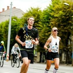 Tallinna Maraton - Christophe Van Helleputte (1130), Natalia Gribovskaya (1314)