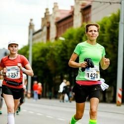 Tallinna Maraton - Ella Oksanen (1357), Christina Löwe (1420)