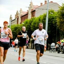 Tallinna Maraton - Aarne Nõmberg (644), Aigar Tarre (1035), Adam Badowski (1570)