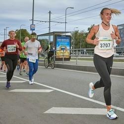 Tallinna Maraton - Agnes-Gertrud Aavaste (1289), Riste Remmelgas (3707)