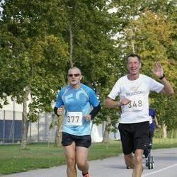 IV Ultima Thule maraton - Rain Arnus (348), Andre Käen (377)