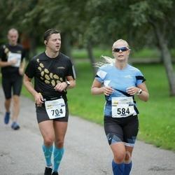 Tallinna Maraton - Anni Niidumaa (584), Dmitrii Moiseev (704)