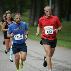 Tallinna Maraton - Aleksandrs Sokolovs (452), Andris Trups (1454)
