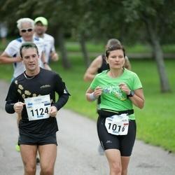 Tallinna Maraton - Anna Lipka (1016), Simo Lõo (1124)