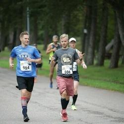 Tallinna Maraton - Kristo Põlluaas (806), Ersto Põlluaas (964)