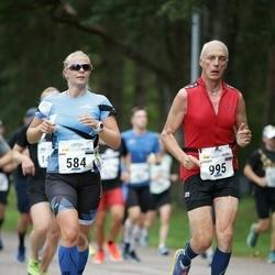 Tallinna Maraton - Anni Niidumaa (584), Sergey Shlyakhtenko (995)