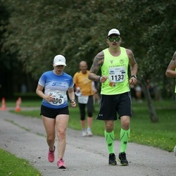 Tallinna Maraton - Rauno Mäe (1133), Annemari Muru (1300)
