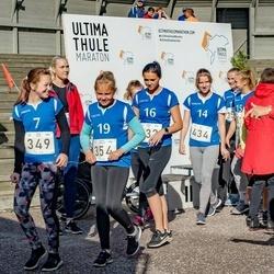 IV Ultima Thule maraton - Grete Aavik (349), Mariete Järvelaid (354), Mia Muru (434)