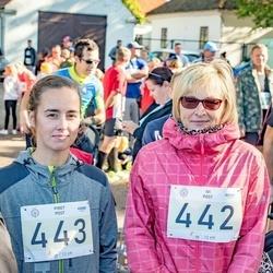 IV Ultima Thule maraton - Ivi Post (442), Piret Post (443)