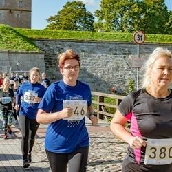 IV Ultima Thule maraton - Kätlin Kallas (346), Annika Viljaste (380)