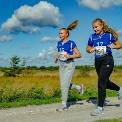 IV Ultima Thule maraton - Annabel Metsalu (350), Triinu-Liis Toom (352)