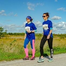 IV Ultima Thule maraton - Kairi Niit (418), Katrin Kuusk (419)