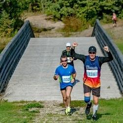 IV Ultima Thule maraton - Aarne Hõbelaid (132), Ranno Pettai (136)