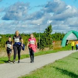 IV Ultima Thule maraton - Sander Matt (424), Piret Kaasik (427), Karmen Kaasik (428)
