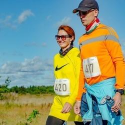 IV Ultima Thule maraton - Mehis Kallas (417), Eveli Kallas (420)