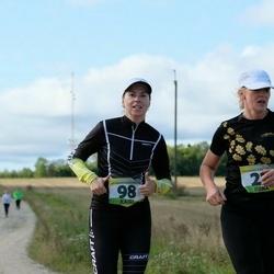 III Vooremaa poolmaraton - Reet Luhaäär (23), Kairi Ustav (98)