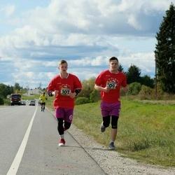 III Vooremaa poolmaraton - Kert Pärn (107), Andreas Sass (109)