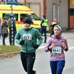 8. Tartu Linnamaraton - Juhani Uri (4531), Anna Maria Võsu (4641)