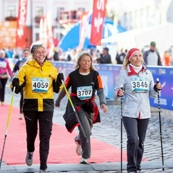 8. Tartu Linnamaraton - Liivi Loost (3707), Ülle Müürsepp (3846), Annely Põldaru (4059)