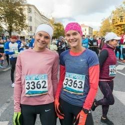 8. Tartu Linnamaraton - Birgit Kasela (3362), Britta Kasela (3363)