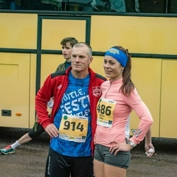 46. Saaremaa kolme päeva jooks - Helina Pärn (486), Andre Käen (914)