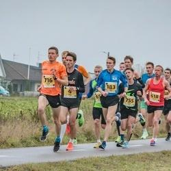 46. Saaremaa kolme päeva jooks - Ülari Kais (4), Taavi Kilki (183), Kalev Õisnurm (618), Sander Jürs (716), Aaron Kais (755)