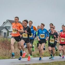 46. Saaremaa kolme päeva jooks - Ülari Kais (4), Taavi Kilki (183), Janar Mai (582), Kalev Õisnurm (618), Sander Jürs (716), Aaron Kais (755)