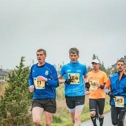 46. Saaremaa kolme päeva jooks - Rain Gussev (11), Taivo Kitsing (184), Arles Taal (563)