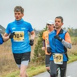 46. Saaremaa kolme päeva jooks - Taivo Kitsing (184), Arles Taal (563)