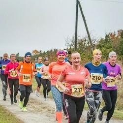 46. Saaremaa kolme päeva jooks - Andre Anis (209), Kaisa Heinla (210), Marge Põder (217)