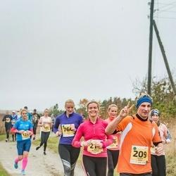 46. Saaremaa kolme päeva jooks - Andre Anis (209), Ulvi Reinhold (214), Maili Pajuri (760)