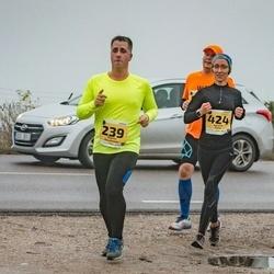 46. Saaremaa kolme päeva jooks - Marko Raudsepp (239), Agnese Gaile (424)