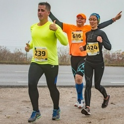 46. Saaremaa kolme päeva jooks - Marko Raudsepp (239), Agnese Gaile (424), Kaido Rosin (616)