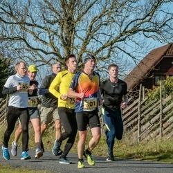 46. Saaremaa kolme päeva jooks - Kristjan Lukk (75), Priit Lopsik (79), Margo Tormet (145), Arnis Sulmeisters (301)