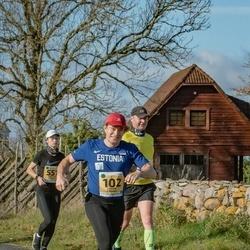 46. Saaremaa kolme päeva jooks - André Abner (102), Mari-Liis Valma (557)