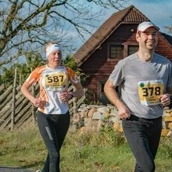 46. Saaremaa kolme päeva jooks - Ando Hermsalu (347), Kaire Kallak (587)