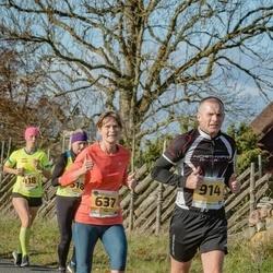 46. Saaremaa kolme päeva jooks - Anne-Li Tilk (637), Andre Käen (914)