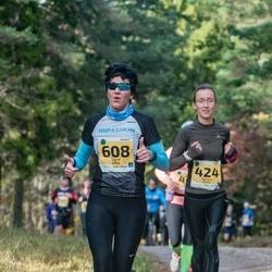 46. Saaremaa kolme päeva jooks - Agnese Gaile (424), Signe Uibo (608)