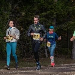 46. Saaremaa kolme päeva jooks - Andre Anis (209), Kerli Luks (226), Robert Sinikas (313)